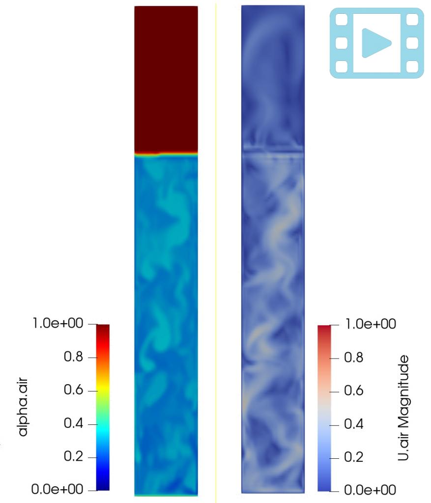 Bubble Column: an OpenFOAM® simulation